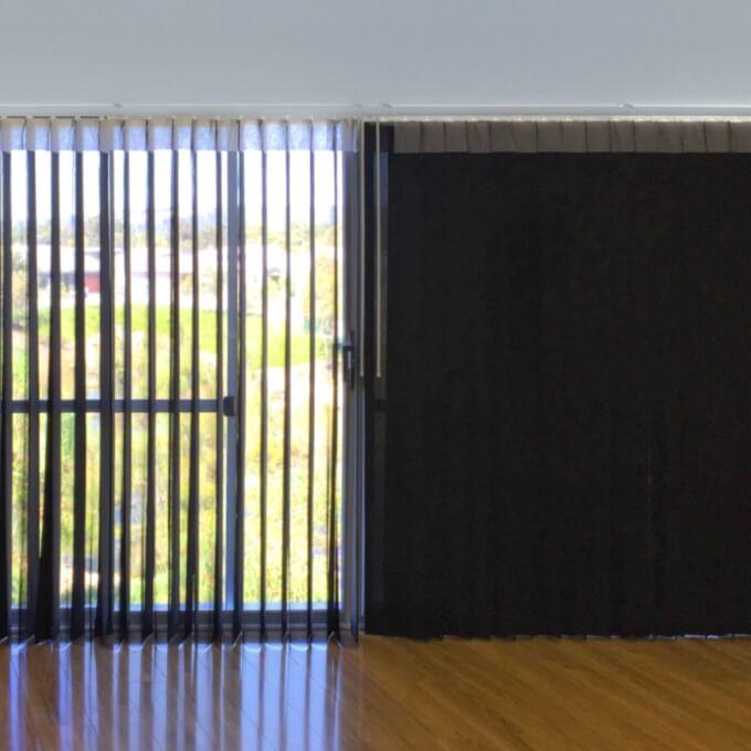 Persianas y cortinas Flexilux para la sala